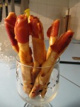 Homemade bread sticks